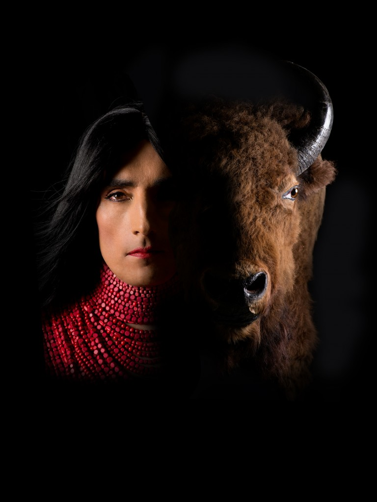 Kent Monkman - Miss Chief and Bison