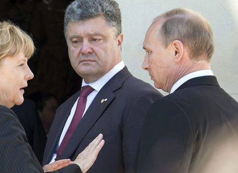 Poroshenko_Putin