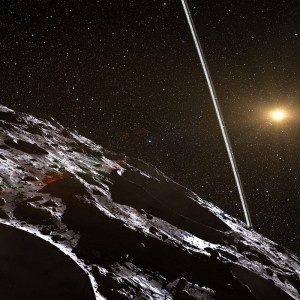 Rings around Asteroid